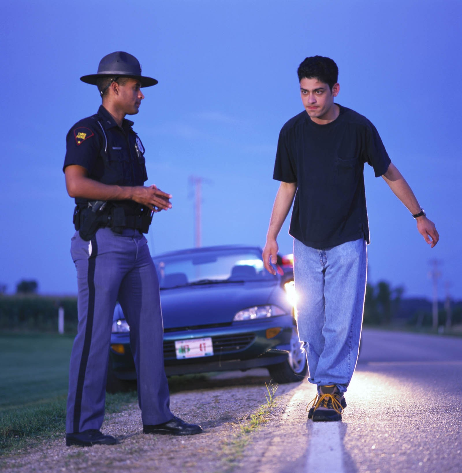 Tests for field sobriety